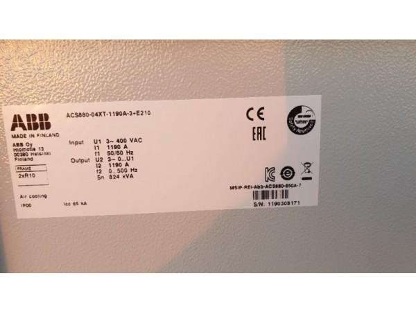Abb Acs880 630kw